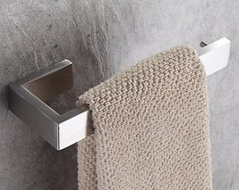 UNILLAP Stainless Steel Bathroom Accessories Hardware Wall Mounted Brush... - $20.86