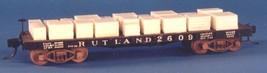 Funaro & Camerlengo HO Rutland 2300/2600 Flatcar with Marble Load,  Kit 6492 image 2
