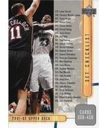 Michael Jordan Upper Deck 01-02 #405 Washington Wizards Chicago Bulls - $2.00