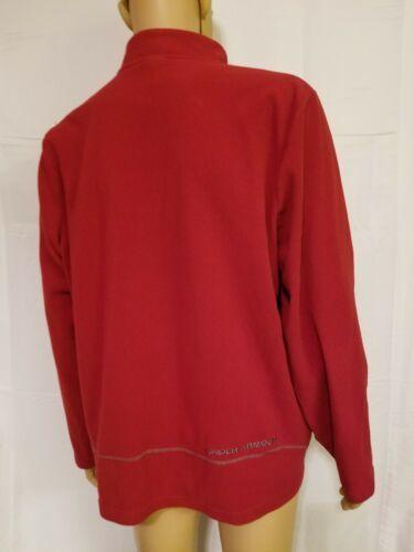 Under Armour Red Fleece Jacket Half Zip Long Sleeve Mens Size XL Extra Large UA  image 6
