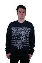 Dope Couture Peruvian Ski Team Crewneck Navy Sweatshirt - $33.64