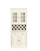 DOLLHOUSE MINIATURE PLATINUM COLLECTION LARGE WHITE KITCHEN CABINET #P5104 - $74.24