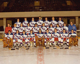 1980 US Olympic Team SFOL Vintage 22X28 Color Hockey Memorabilia Photo - $37.95