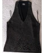 I*N*C International Concepts Sequins Black Top - $85.00