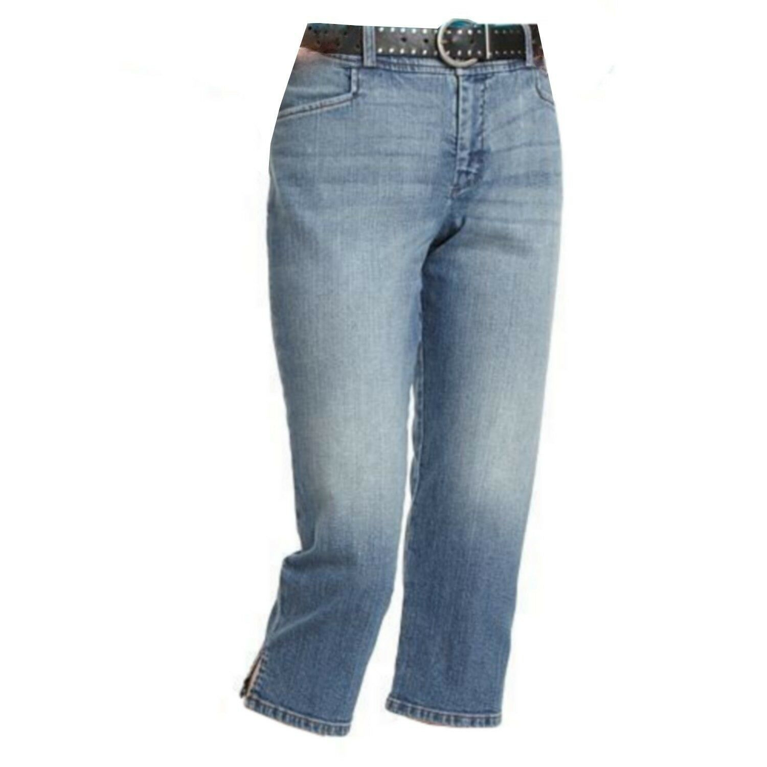 Primary image for Chaps by Ralph Lauren Petite 12 12P Slimming Fit South Beach Denim Jean Capris