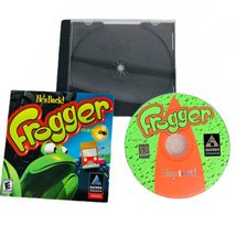Frogger He's Back CD Rom PC Game Windows 95 98 Hasbro Interactive 1997 Vintage - $9.85