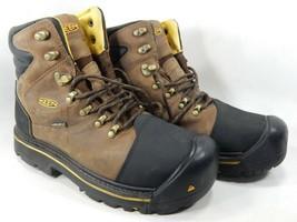 Keen Milwaukee Sz US 10 M (D) EU 43 Men's WP Steel Toe Work Brown Boots ... - €79,10 EUR