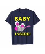New Shirts - Baby Shower T-Shirt Mouse Rat Mommy Mama Son Daughter Daddy... - $19.95+