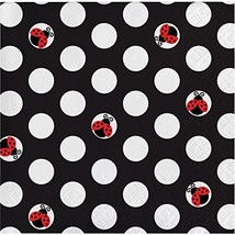 Ladybug Fancy Beverage Napkins, 48 Count - $13.73