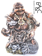 Polyresin Made Statue of Laughing Buddha - 300 - $101.00