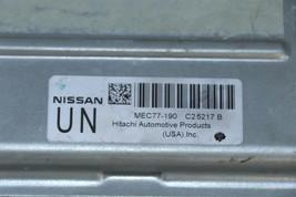 Nissan 4.0L ECU ECM PCM Engine Control Unit Computer MEC77-190-C2 image 2