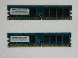 2GB 2X1GB PC6400 DDR2-800MHz PC2-6400 240PIN DIMM Non - ECC Desktop Memory