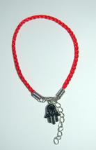 Kabbalah 10 pcs Lot Red String Hamsa Mazal Shema Lucky Charm Evil Eye Bracelet image 2
