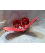 Vera Bradley Jewelry Box Case Rosy Posies Perfect HEART - $25.00