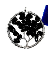 Tree of Life genuine Black Onyx  Pendant 20.00 carats - $48.39