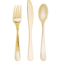 Elise Gold Metally Assorted Cutlery, Case of 288 - $89.41