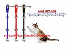 Cat Door Bells House Training Kitty Doorbell for Potty Training, Doorbells - $9.99