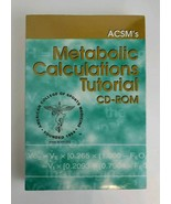 Kaminsky's ACSM'S Metabolic Calculations Tutorial CD-ROM v1.0a BRAND New... - $15.68