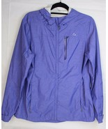 Paradox women's hoodie raining jacket purple lightweight full zipper siz... - $16.77