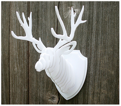 New Acrylic Deer Head Wall Trophy gift for you - $20.00