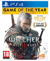 The Witcher 3 Wild Hunt Game Of The Year (Playstation 4, PS4)   - $42.99