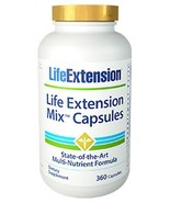2 PACK Life Extension Mix Capsules NEW FORMULA! 60 Day Supply Multivitamin - $87.88