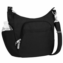 Travelon Anti-Theft Cross-Body Bucket Bag, Black, One Size - $89.32