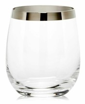 Mikasa Serenity Platinum Double Old Fashioned Glass - $19.28