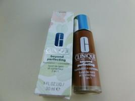 Clinique Beyond Perfecting Foundation + Concealer 28 Clove D-P New - $18.76