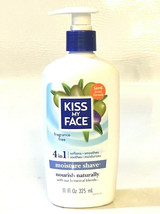 Kiss My Face Moisture Shave Fragrance Free 4 in 1 Creme 11 oz - $44.43