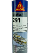 SIKA FLEX 291 FAST CURE Marine Adhesive Sealant Black 10.3 OZ. 90923 Boats - $18.95