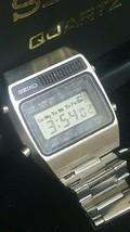 Vintage Seiko digital A159-5019-G alarm chronograph LC quartz original b... - $166.50