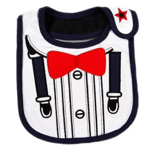 Little Suit Toddle Infant Burp Cloths Baby Bibs Neat Solutions Set of 3