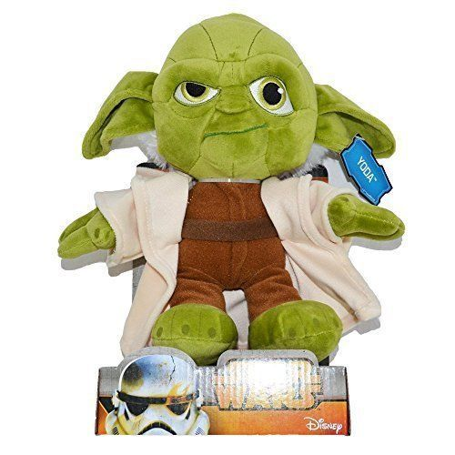 "Star Wars 10"" Plush Soft Toy - Yoda - 23853 - New"