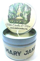 Mary Jane (Marijuana Aroma) 4oz All Natural Hand Made Soy Candle Tin App... - €6,30 EUR
