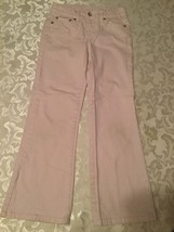 Girls-Size 6 Reg.-Faded Glory-jeans-pink - $14.99