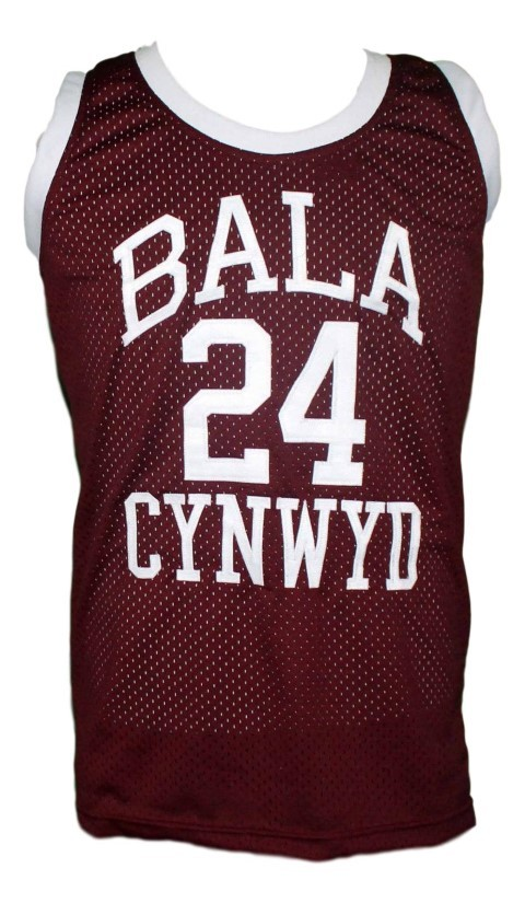 Kobe Bryant Bala Cynwyd Middle School Basketball Jersey New Maroon Any Size