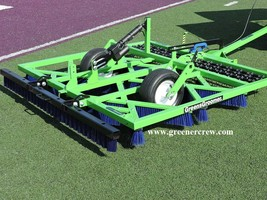 Synthetic Sports Fields Turf Groomer with Finishing Brush  - $4,898.00