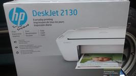 HP DeskJet 2130 USB 2.0 All-in-One Color Inkjet Scanner Copier Photo Pri... - $24.75