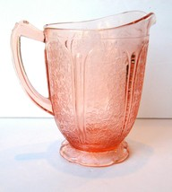 36 Oz Pitcher W/Scalloped Base Cherry Blossom Pink - $47.50
