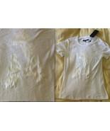 "RAG & BONE Boyfriend Silk Letter ""A"" Cotton T-Shirt Tee SOLD OUT NWT NEW... - $99.99"