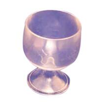 """12 Mini Plastic brandy glasses Wedding Favor clear 2.25"""" tall - $6.92"""