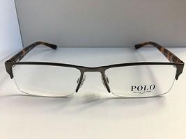 New Ralph Lauren PH 2311 1792 54mm Semi-Rimless Men's Eyeglasses Frame w/case - $149.99