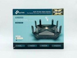 TP-Link Archer AX6000 WiFi 6 - 8 Port Dual Band Next-Gen Wi-Fi Router - $253.81