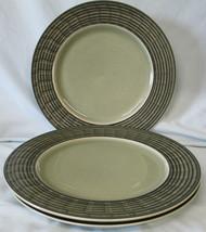 Pfaltzgraff Shadow Box Jade Dinner Plate, set of 3 - $33.55