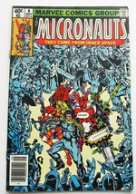 Micronauts #9 Comic Book September 1979 Fine 5.0 Grade Marvel First Series - $2.56
