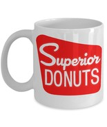 Superior Donuts TV Coffee Shop Inspired White 11 oz Coffee Mug - $14.24