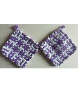 Hot Pads Loom Loop Pot Holders Woven Potholders Custom Handmade Trivet C... - $9.99