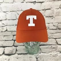 Nike T Texas Mens One Sz Hat Orange Adjustable Dri Fit Baseball Cap - $14.84