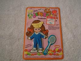 Jelly Bean Big Bow Outfit Doll cloths 1982 Lanard Blue Sports Fashion Se... - $12.99
